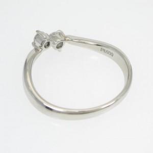 Cartier Platinum Diamond Ring Size: 6.5