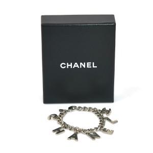 Chanel Silver Tone Metal Bracelet