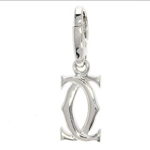 Cartier 18K White Gold Pendant