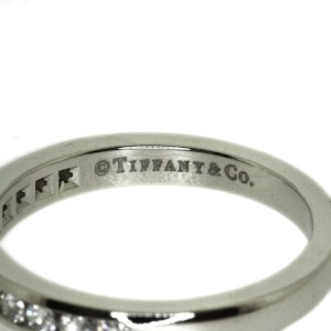Tiffany And Co. PT950 Platinum Diamond Ring
