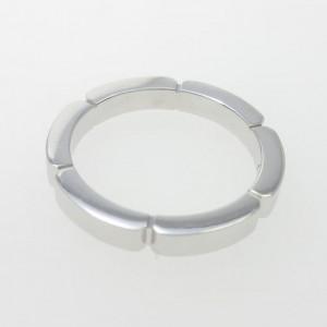 Cartier 18K White Gold And Myon Phantele Ring Size 4.5