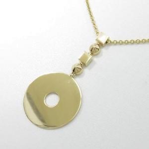 Bulgari 750 Yellow Gold Lucia Necklace
