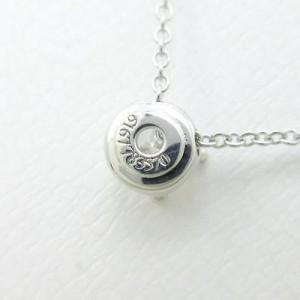 Bulgari 750 White Gold Corona Necklace