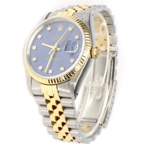 Rolex Datejust 36mm 2-Tone Yellow Gold/Steel Watch