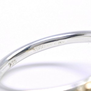 TIFFANY&Co Silver925/K18 yellow gold Love knot Ring NST-140