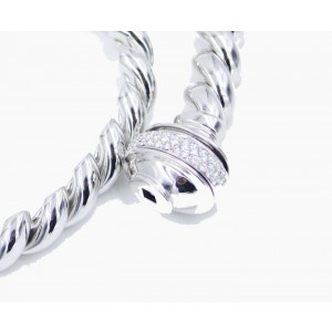 Piaget 18K White Gold Diamond Necklace G37P0945