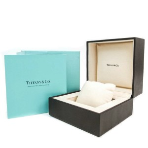 TIFFANY & CO. Z1100.70.12A10A00A Atlas Rubber, Stainless steel Gent Square Watch HK-2525