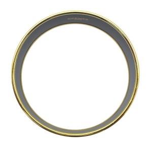 Hermes Gold-Tone Multicolor Bangle Bracelet