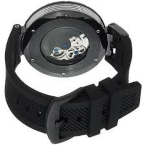 Stuhrling Emperor VT 324.335664 Stainless Steel PVD & Rubber 49mm Watch