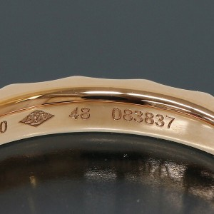 Louis Vuitton Alliances Monogram Infini Ring in 18K Rose Gold US4.75 EU48