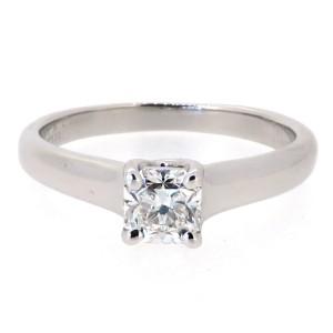 Tiffany & Co. Platinum Lucida Diamond Wedding Engagement Ring