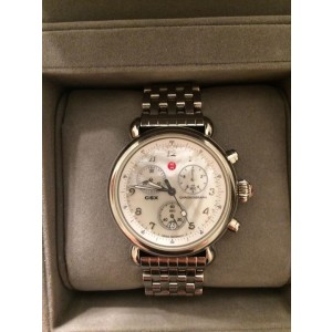 Michele CSX mw03c00a0025 Stainless Steel Chronograph 35mm Womens Watch