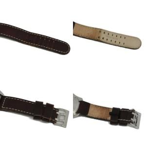 HAMILTON Khaki Pilot H646110 Silver Dial Stainless Steel/Leather Quartz Watch