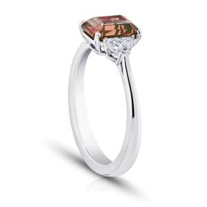 Platinum 2.08ctw. Sapphire 0.29ctw. Diamond Ring Size 7