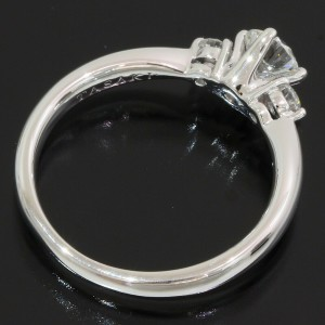TASAKI 0.28ct & 0.06ct Diamonds Design Ring