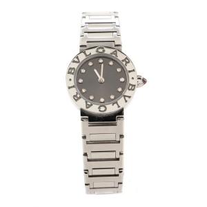 Bvlgari Bvlgari Quartz Watch Stainless Steel with Diamond Markers 23