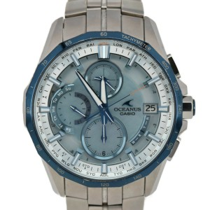 CASIO Oceanus Manta OCW-S3000P-2AJF Solar Powered Radio Men's Watch
