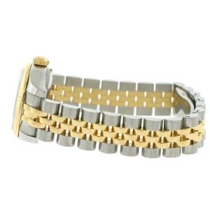 Rolex Datejust Ladies 2-Tone 18K Yellow Gold/Steel 26MM Factory White Roman Dial Jubilee Watch 179173
