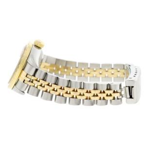 Rolex Datejust Ladies 2-Tone 18K Gold/SS 26mm Jubilee Watch 79173 w/Silver MOP Diamond Dial & Bezel
