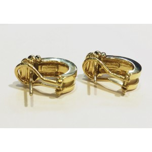 Tiffany & Co.  18k Yellow Gold  Earrings