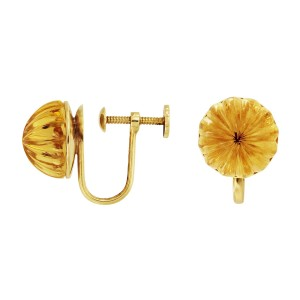 Tiffany & Co.  18k Yellow Gold Citrine, dimension: 11.8 mm Earrings