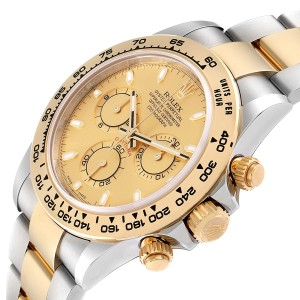 Rolex Cosmograph Daytona Steel Yellow Gold Mens Watch 116503 Unworn