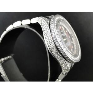 Breitling Aeromarine White Colt Ocean 9.5 Ct Diamond Ladies Watch