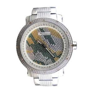 Jojino/Jojo/Joe Mj-8019 Rodeo Genuine Camouflage Dial Diamond Mens Watch