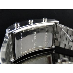 Techno Com KC W5T40M Joe Rodeo 5 Timezone Master .50 Ct Diamond Mens Watch