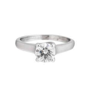 Platinum And Diamond Engagement Ring