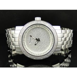 Jojino/Joe Rodeo Mj-1175 Aqua Master Metal Band 25 Diamond Mens Watch
