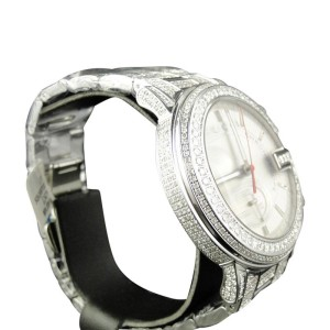 Gucci Ya101334  Custom 101 G Chrono Real 44 MM  8.85 Ct Diamond Mens Watch