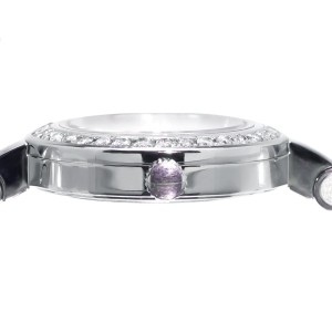 Gucci YA105528 2ct Genuine Diamond Stainless Steel Bangle Bracelet Ladies Watch