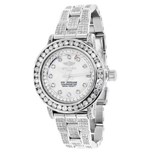 Breitling Ladies Aeromarine MOP Colt Oceane 33 Diamond A77387 13.5 Ct Watch