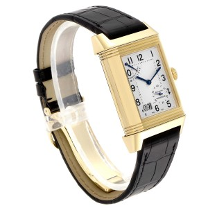 Jaeger LeCoultre Reverso Grande Date 8 Day Yellow Gold Watch 240.1.15 Q3001420
