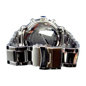 Jojo/Jojino XL MJ-1213 Big Face Stainless Steel 52 MM 0.25 Ct Diamond Mens Watch