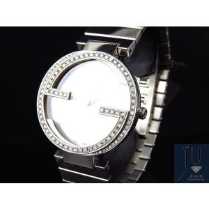Gucci YA133308 Stainless Steel Interlocking GG 2.0 ct Diamond Unisex Watch 37mm