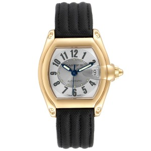 Cartier Roadster 18K Yellow Gold Large Mens Watch W62005V2