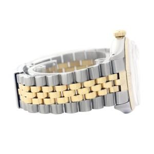 Rolex Datejust 16013 Fluted Diamond Dial Mens 36mm Watch