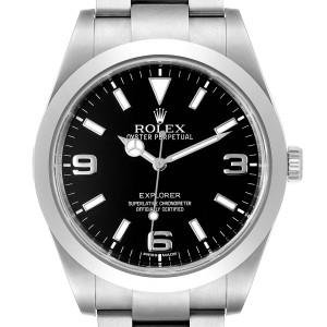 Rolex Explorer I 39 Black Dial Automatic Mens Watch 214270
