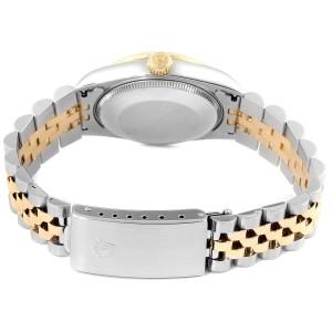 Rolex Datejust Midsize 31mm Steel Yellow Gold Diamond Ladies Watch 68273