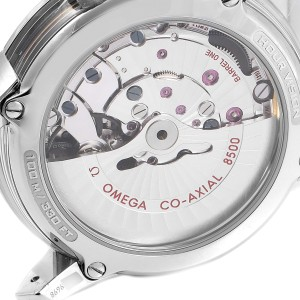 Omega DeVille Hour Vision Blue Dial Steel Mens Watch 431.33.41.21.03.001
