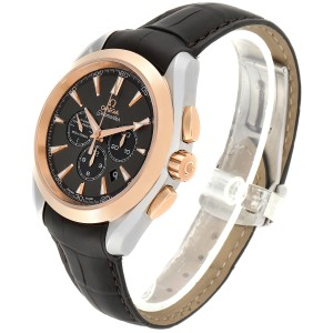 Omega Seamaster Aqua Terra Steel Rose Gold Mens Watch 231.23.44.50.06.001