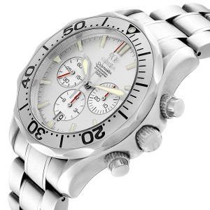 Omega Seamaster Silver Dial Special Edition Chronograph Watch 2589.30.00