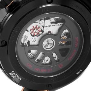 Tag Heuer Carrera Caliber Heuer 01 Skeleton Watch CAR205A Box