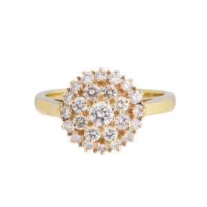 Timeless Shine - 18k Yellow Gold 1.00 Ct. Diamond Ring