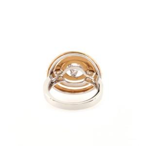 Damiani Sophia Loren Ring 18K White Gold and Pink Gold with Diamonds 7