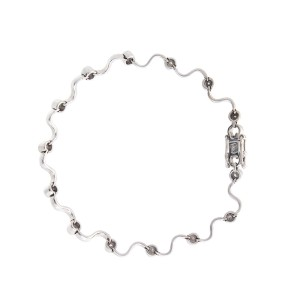 Delicate And Feminine 14k White Gold 0.50 Ct. Diamond Bracelet