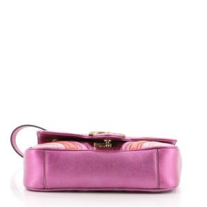 Gucci GG Marmont Flap Bag Matelasse Leather Mini