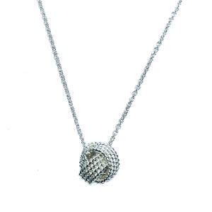 Tiffany & Co. Twist Knot Pendant Necklace